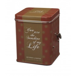 Musical tea caddy 'Sunshine...