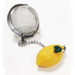 Mesh tea ball (lemon)