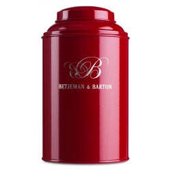 Tea caddy Red