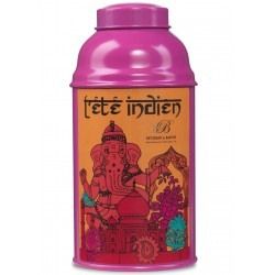 "Tea caddy ""Indian Teas""..."