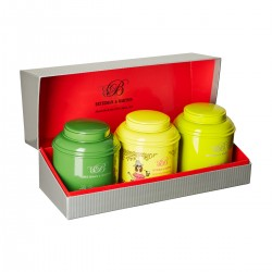 "Box of green teas ""Viens je..."