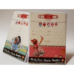 Package of 8 invitation cards