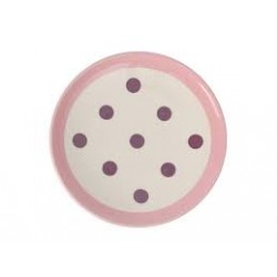Plate with dots 22 cm